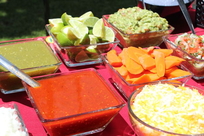 Plus, a taco bar party cuts the preparation time in half, since a taco bar party allows guests to build their own tacos. Friends and relatives will have a fun time building a supreme taco tailored to their favorite Mexican toppings.